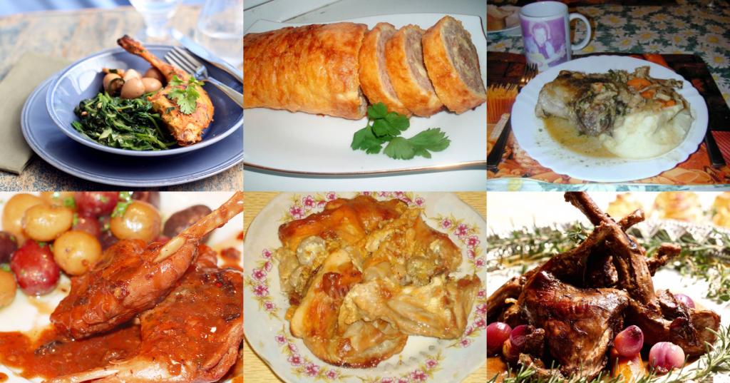Разнообразие блюд из зайчатины